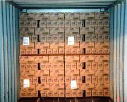 Zwischenlage Container