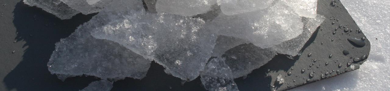 Zwischenlage Eis